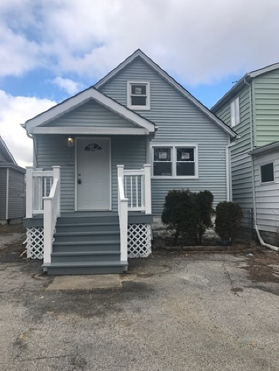 Steger Single Family Home For Sale: 3216 Wallace Avenue