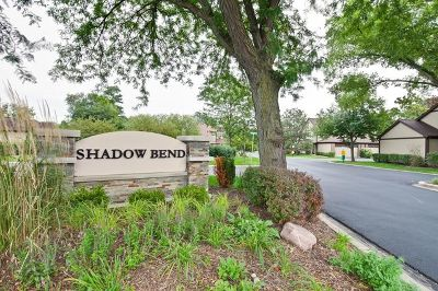 Wheeling Condo/Townhouse For Sale: 317 Shadowbend Drive