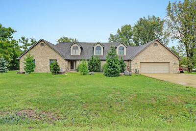 Plainfield Single Family Home For Sale: 16521 South Lily Cache Road