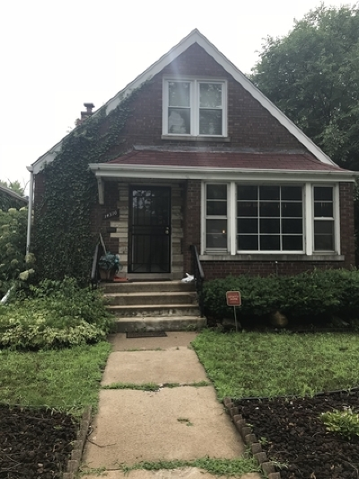 Single Family Home For Sale: 14310 South Dearborn Street