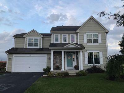 Oswego Single Family Home Price Change: 330 Hemlock Lane