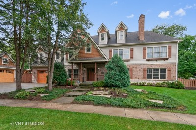 Glen Ellyn Single Family Home Price Change: 937 Roslyn Road