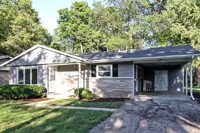 Crystal Lake Single Family Home Contingent: 381 Hickory Drive