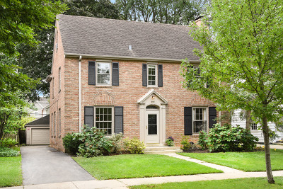 Wilmette Single Family Home For Sale: 2221 Thornwood Avenue