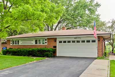 Mount Prospect Single Family Home Contingent: 1420 East Lowden Lane