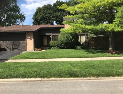 Roselle Single Family Home For Sale: 564 Bryce Trail