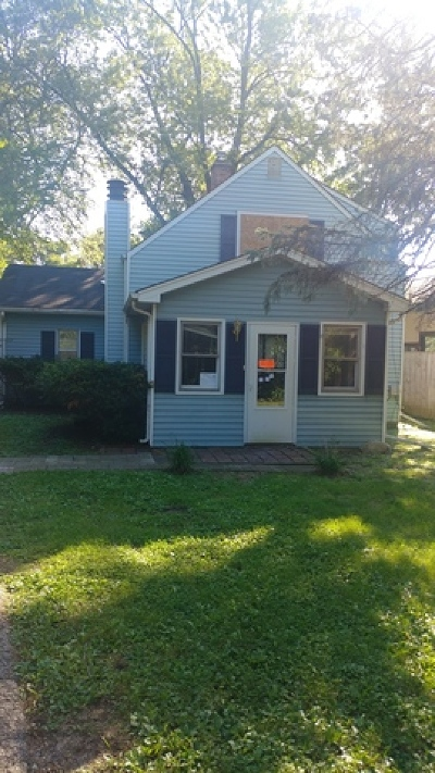 Naperville Single Family Home Price Change: 5s665 North Wright Street