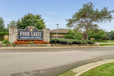 Lisle Condo/Townhouse Contingent: 6010 Forest View Road #2A