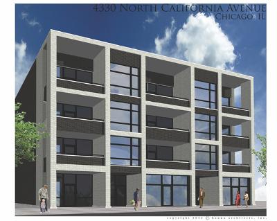 Condo/Townhouse For Sale: 4330 North California Avenue #2A