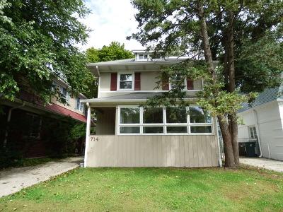 Wilmette Single Family Home For Sale: 714 Sheridan Road