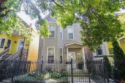 Single Family Home For Sale: 3515 West Belden Avenue