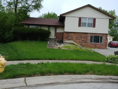 Hazel Crest  Single Family Home For Sale: 3515 Bordeaux Court