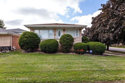 Calumet City Single Family Home For Sale: 1275 Memorial Drive