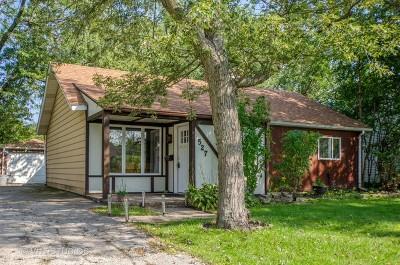 Glenview Single Family Home For Sale: 527 Elder Lane