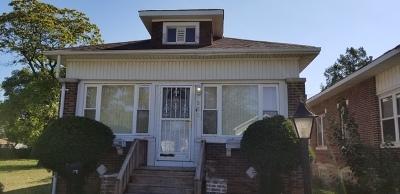 Calumet City Single Family Home For Sale: 555 Freeland Avenue