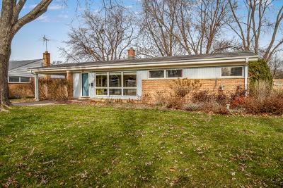 Palatine Single Family Home For Sale: 500 East Robertson Street