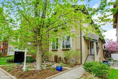 Single Family Home Price Change: 5030 North Mozart Street