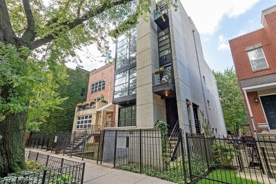 Condo/Townhouse For Sale: 1442 North Mohawk Street #1