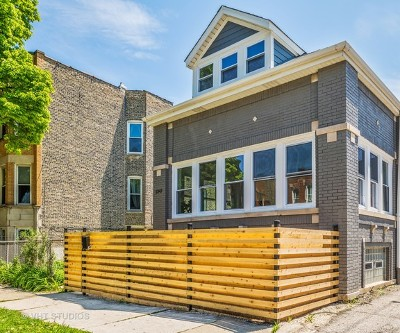 Single Family Home For Sale: 2347 West Dickens Avenue
