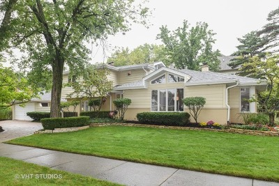 Hinsdale Single Family Home Price Change: 446 South Monroe Street