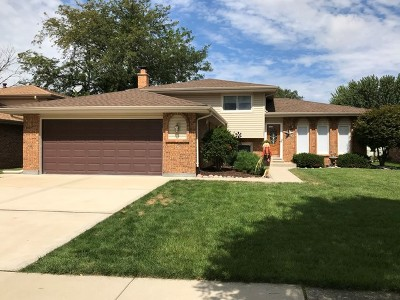 Mokena Single Family Home Price Change: 11052 Kimberly Trail