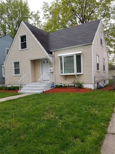 Dolton  Single Family Home Price Change: 14836 Grant Street
