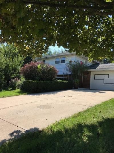 Tinley Park Single Family Home For Sale: 16650 Ridgeland Avenue