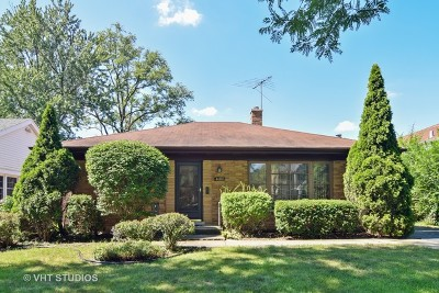 Western Springs Single Family Home For Sale: 4088 Garden Avenue
