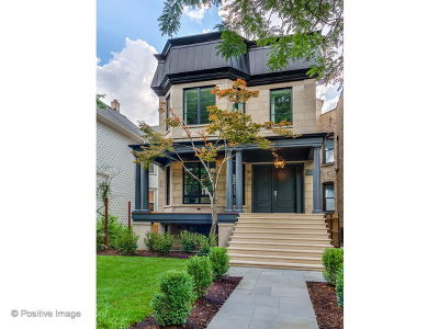 Single Family Home For Sale: 4144 North Greenview Avenue