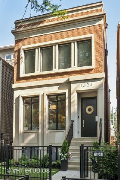 Single Family Home For Sale: 1324 West Melrose Street