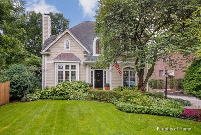 Glen Ellyn Single Family Home For Sale: 465 Hill Avenue