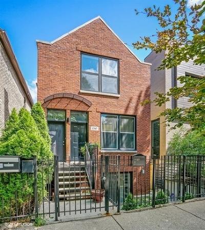 Condo/Townhouse For Sale: 1747 North Wolcott Avenue #2
