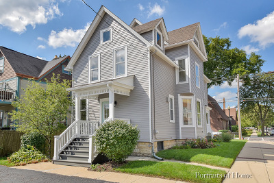 Wheaton Single Family Home For Sale: 129 North West Street