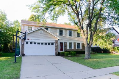 Buffalo Grove Single Family Home Price Change: 1346 Rose Boulevard