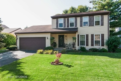 Glendale Heights Single Family Home Price Change: 119 West Fullerton Avenue