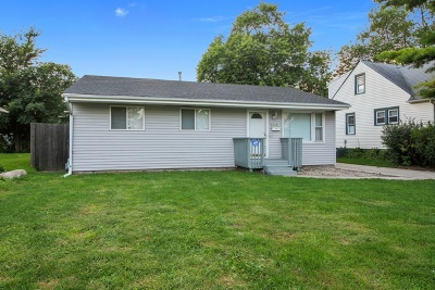 Steger Single Family Home For Sale: 3330 Wallace Avenue