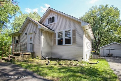 Roselle Single Family Home Contingent: 6n175 Virginia Road