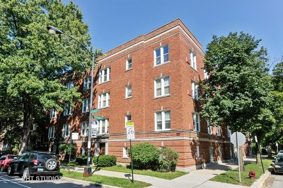 Condo/Townhouse For Sale: 3633 North Damen Avenue #3