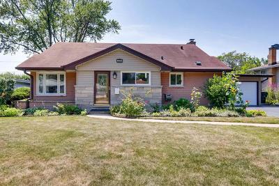 Glenview Single Family Home For Sale: 3131 Bellwood Lane