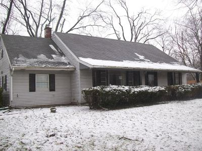Flossmoor  Single Family Home For Sale: 1832 Vollmer Road
