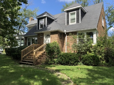 Homewood Single Family Home For Sale: 2518 Hickory Road