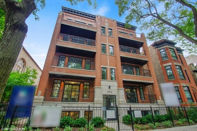 Condo/Townhouse For Sale: 711 West Buckingham Place #1E