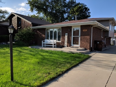Oak Forest Single Family Home New: 5244 170th Street