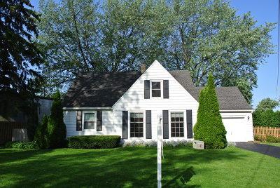 Palatine Single Family Home For Sale: 306 South Elmwood Avenue