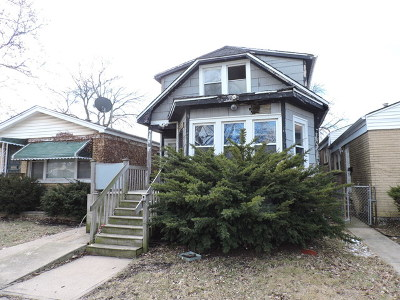 Chicago IL Multi Family Home For Sale: $24,900