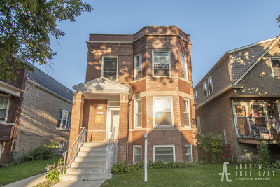Multi Family Home For Sale: 4515 North Harding Avenue