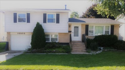 South Holland Single Family Home For Sale: 16502 Woodlawn West Avenue