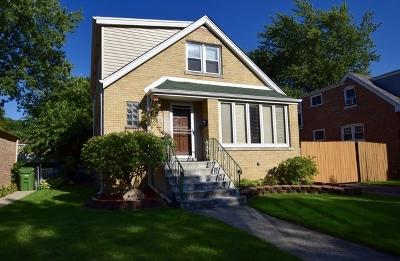 Oak Lawn Single Family Home New: 11011 South Tripp Avenue