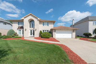 Orland Park Single Family Home New: 7836 Sea Pines Road