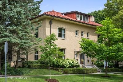 Wilmette Single Family Home For Sale: 1000 Sheridan Road